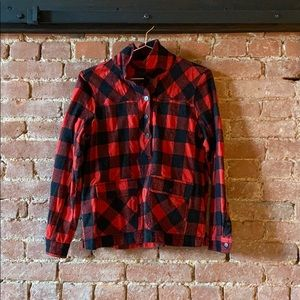 J. Crew thick flannel
